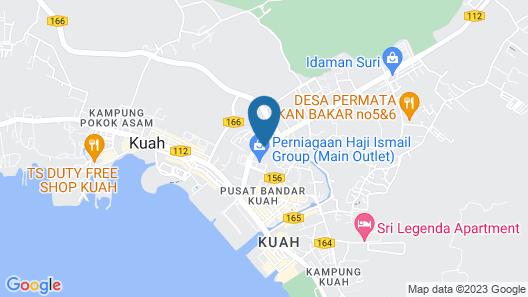 Greenish Hotel Langkawi Map