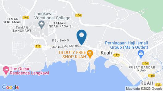 GM Homestay Kelibang Map