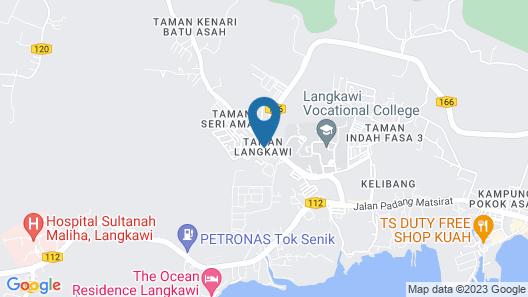 Homestay Anak Langkawi Map