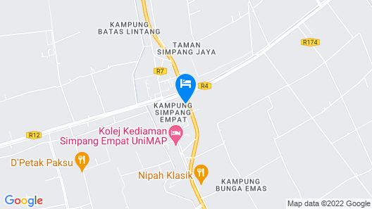 OYO 90010 Hotel Natalia Villa Inapan Map