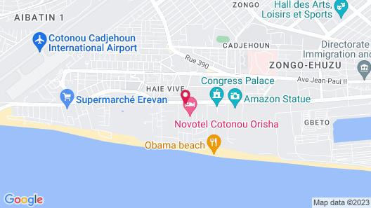 ibis Cotonou Map