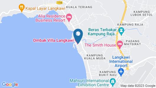 Langkawi Lagoon by Ombak Villa Map