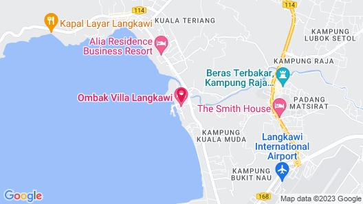 Ombak Villa Langkawi Map