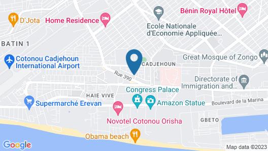 Villa Ekabo Map