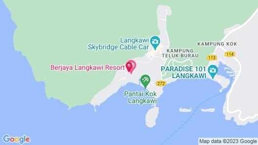 Berjaya Langkawi Resort Map