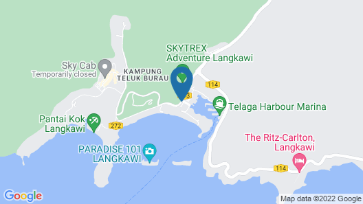 The Danna Langkawi Map