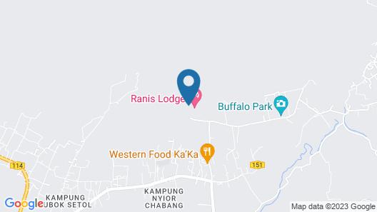 Ranis Lodge Acik Map