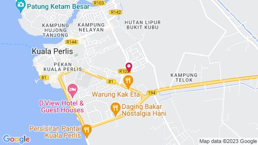 Noor Boutique Hotel Map