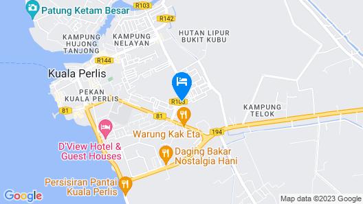 Q Hotel Map