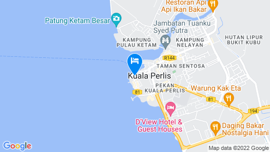 Tyh Hotel Map