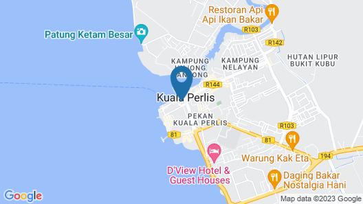 T Hotel Kuala Perlis Map