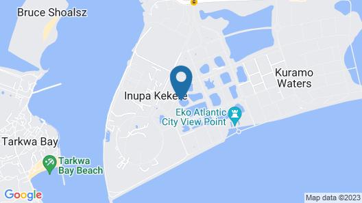 Amara Suites - Eko Atlantic Map