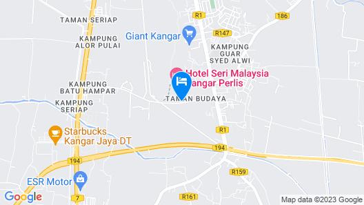 Hotel Seri Malaysia Kangar Map