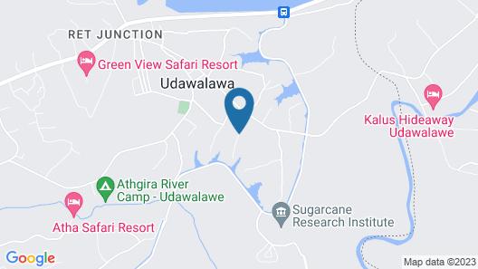 Walawa family villa Map