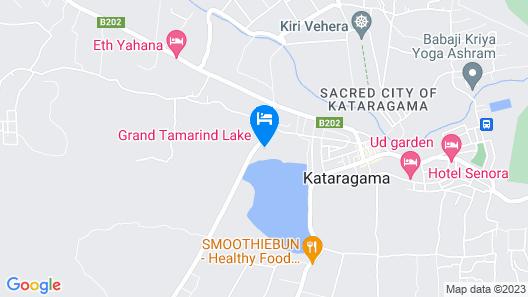 Tamarind Lake Map