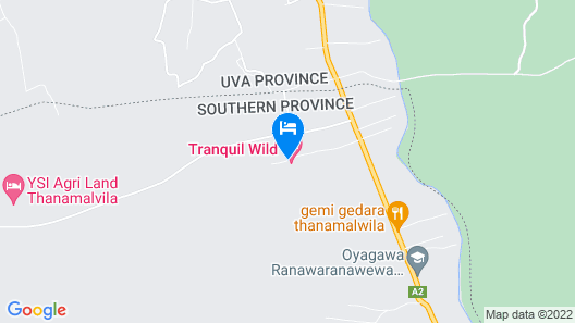 TRANQUIL WILD Map