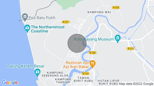 Guest House Transit to Langawi Island Map