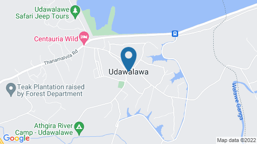 Plumeria Luxury Villas Udawalawe Map