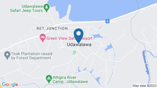 Walawe Green Safari Resort Map
