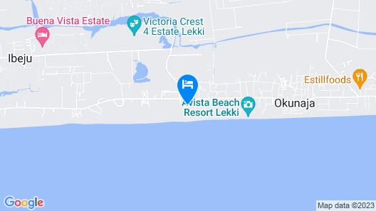 Lekki Miami Beach Resort Map