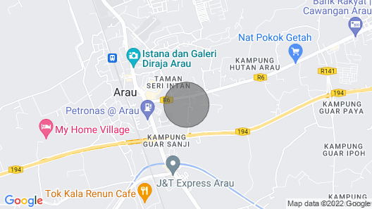 Banglo Size House in Arau, Perlis Map