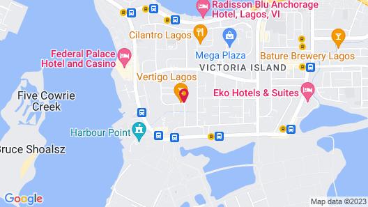 The Blowfish Hotel Map