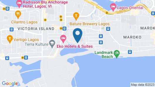Hotel Bon Voyage Map