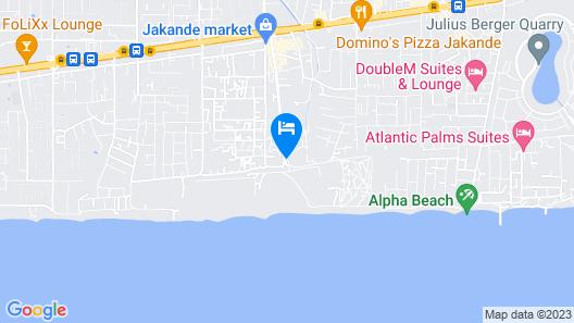 Ocean Pavillion Hotel & Suites Map