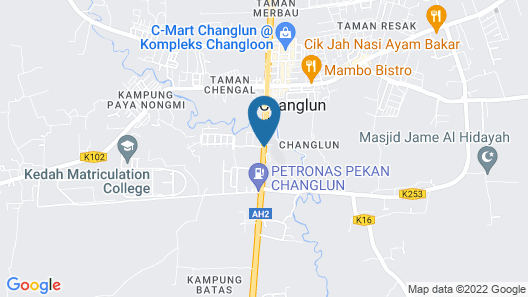 T Hotel Changlun Map