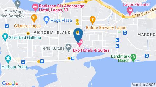 Eko Hotels & Suites Map