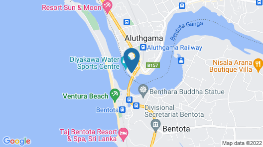 Amber House Lanka Map
