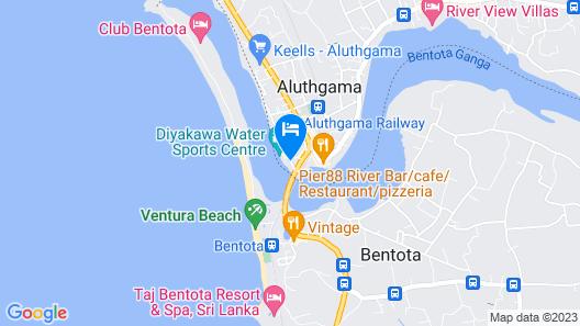 Villa Republic Bentota - Entire Villa (06 Bedrooms) Map