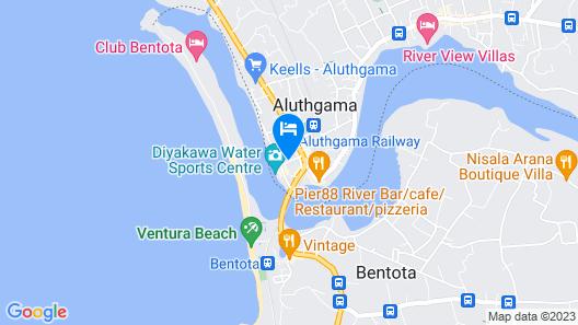 sakurahana guest house Map