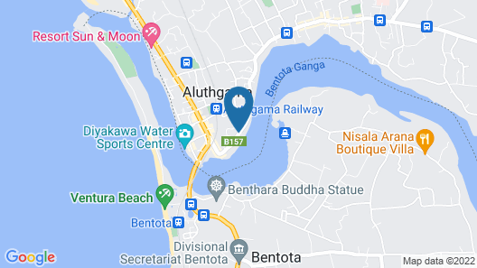 Riverbank Bentota Map