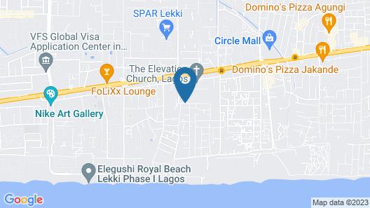 Golden Bird Hotel & Suites Map