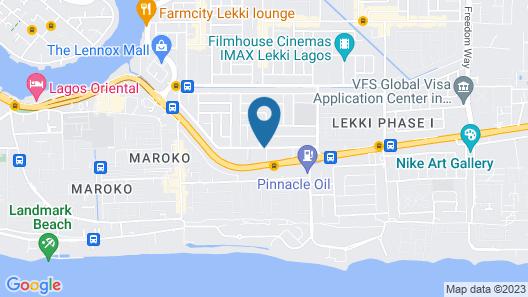 CAESAR'S LUXURY HOTEL Map