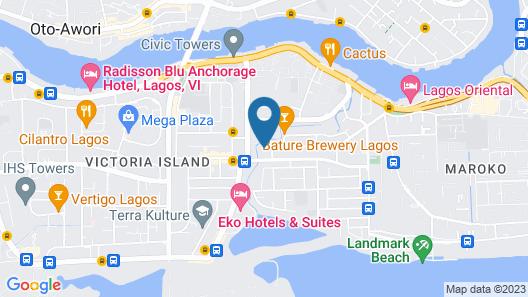 Caravel Suites Map