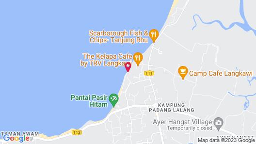 Tanjung Puteri Motel Map