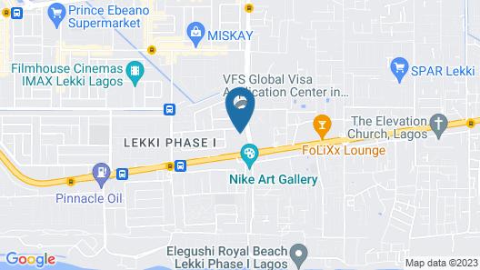 Ziroc Residence Map