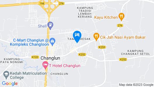 OYO 89348 RG Motel Map