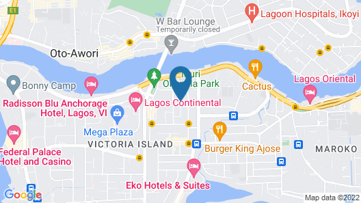 Beni Apartment And Suites Map