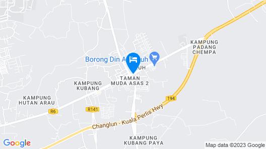 Pauh Inn Map
