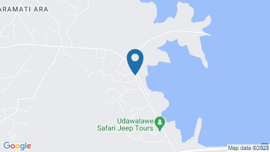 GREENWOOD UDAWALAWA SAFARI RESORT Map