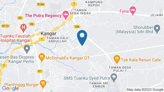 OYO 89831 Sri Sena Hotel Map