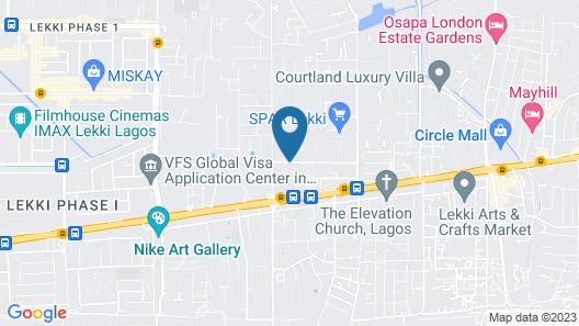Sim court 1 safe court apartment Map