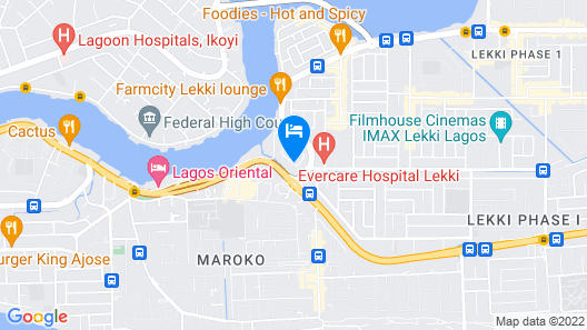 Noah's Ark Hotel & Suites Map