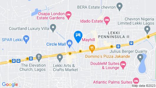 Mayhill Hotel Map