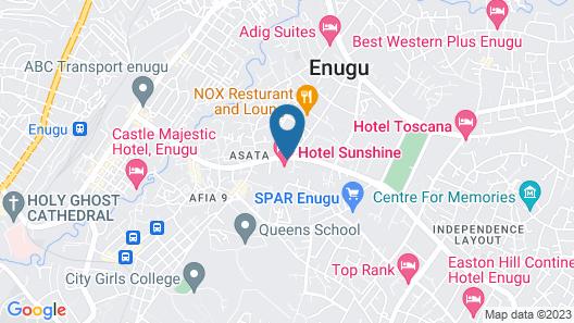 HOTEL SUNSHINE Map