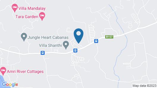 Villa Shanthi Map