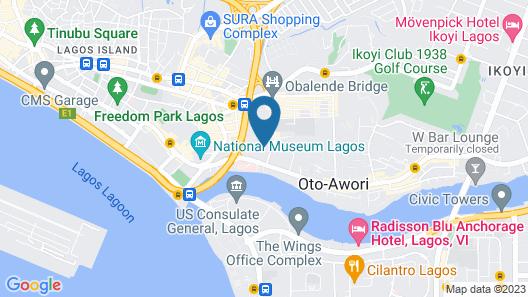 Pilgrims Brook Hotels Ltd Map